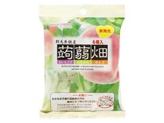 マンナン 蒟蒻畑 白桃味 袋25g×6