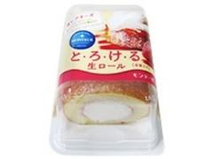 モンテール 小さな洋菓子店 とろける生ロール 苺レアチーズ パック4個