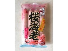 丸善 魚河岸ソーセージ 桜海老 季節限定 袋152g