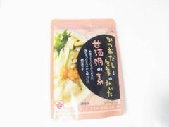 ますやみそ かつおぶしと生姜の効いた甘酒鍋の素