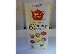 日東紅茶 デイリークラブ 6Variety Pack 箱10個