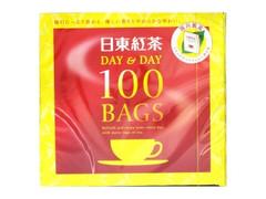 日東紅茶 DAY&DAY 100BAGS 箱180g