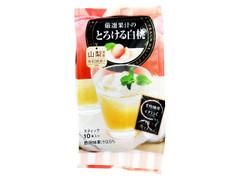 日東紅茶 厳選果汁のとろける白桃 袋95g