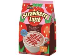 日東紅茶 チロルチョコ×日東紅茶 ストロベリーラテ 袋13.5g×8