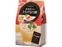 日東紅茶 厳選果汁のとろける白桃 袋9.5g×10