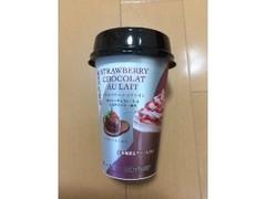 MORIYAMA ストロベリーショコラオレ ホワイトチョコレート&ココアパウダー使用 カップ200g