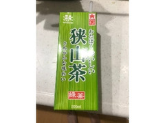 森乳業 狭山茶 パック200ml