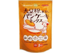みたけ オレンジページまめ部監修! 大豆粉と米粉のパンケーキミックス 袋200g