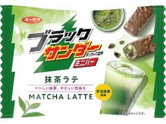 有楽製菓 ブラックサンダー ミニバー 抹茶ラテ 袋159g