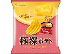 山芳製菓 極深ポテト めんたいチーズ味 袋50g