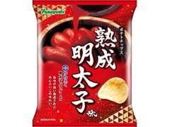 山芳製菓 ポテトチップス 熟成明太子味 袋62g