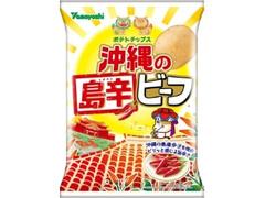 山芳製菓 ポテトチップス 沖縄の島辛ビーフ 袋90g
