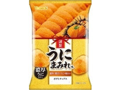 山芳製菓 ポテトチップス うにまみれ味 袋48g