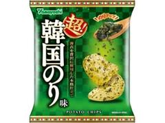 山芳製菓 ポテトチップス 超!韓国のり味 袋60g