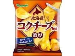 山芳製菓 ポテトチップス 北海道コクチーズ味 袋50g