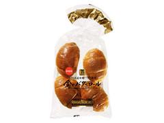 セブンプレミアムゴールド 金のバターロール 袋4個