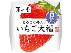 菓心堂 いちご大福 白餡 1個
