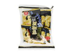 日新製菓 うま塩 黒胡椒煎 袋95g