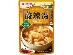 ダイショー 豆腐と卵で作る 酸辣湯用スープ 袋300g