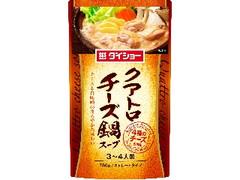 ダイショー クアトロチーズ鍋スープ 袋750g