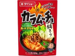 ダイショー コイケヤ監修 カラムーチョ鍋スープ ホットチリ味 袋580g