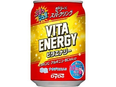 DyDo ぷるっシュ!! ゼリー×スパークリング ビタエナジー 缶280g