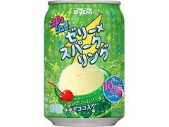 DyDo ぷるっシュ!! ゼリー×スパークリング メロンクリームソーダ 缶280g
