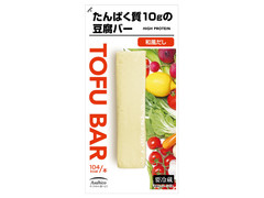 アサヒコ たんぱく質10gの豆腐バー