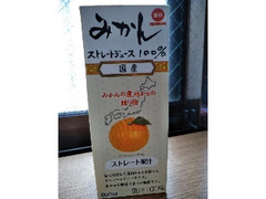 毎日牛乳 みかん ストレートジュース100% 200ml