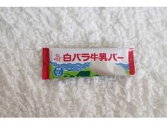 大山乳業 白バラ牛乳バー 袋80ml