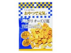ピアンタ カット&スリム おやつで元気 パリポリチーズ豆腐 袋11g