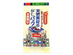 長田食品 天然素材のだしパック お徳用30袋 袋8g×30