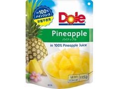 Dole フルーツパウチ パイナップル パウチ115g