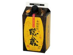 濱田酒造 隠し蔵 貯蔵焼酎麦 25度 パック900ml
