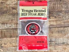 Tengu Brand ビーフステーキジャーキー レギュラー 袋100g