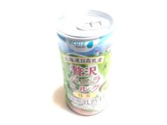 北海道日高乳業 贅沢バニラミルク 抹茶