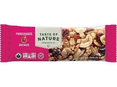 むそう商事 Taste of Nature オーガニックフルーツ&ナッツバーザクロ
