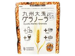 西田精麦 九州大麦グラノーラ 黒豆きなこ 袋180g