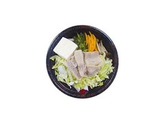 デイリーヤマザキ レンジで簡単!味噌ちゃんこ鍋風うどん