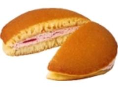 デイリーヤマザキ ベストセレクション 生どら焼 苺クリーム&苺ソース