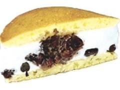 デイリーヤマザキ ベストセレクション クリームたっぷりサンド つぶあん&甘納豆入りクリーム