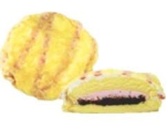 デイリーヤマザキ ベストセレクション ふわふわクレープ包み ザクチョコ&苺ホイップ