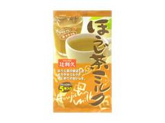 辻利久 ほうじ茶ミルク 袋12.8g×5
