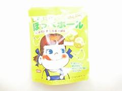 秋田いなふく ミルキー(Milky) まる~いほっぺボール 不二家バナナミルキー風味 1包装