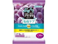 オリヒロ ぷるんと蒟蒻ゼリー プラズマ乳酸菌 巨峰味