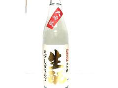 菊正宗 生酛 大吟醸 新酒しぼりたて 瓶720ml