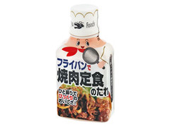 金龍フーズ フライパンで焼肉定食のたれ ボトル210g