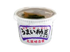 小金屋食品 うまい納豆 たれ付 カップ1食