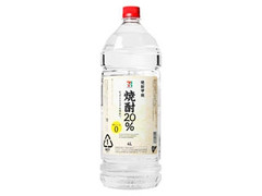 セブンプレミアム 焼酎20% ペット4000ml