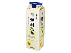 セブンプレミアム 焼酎25% パック1800ml